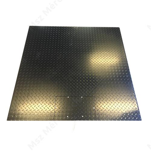 MSZ-LP, 1500x1500 mm-es, 3000 kg-os lapmérleg alváz