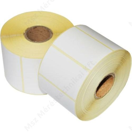 ALK00783, Papír címketekercs, 55x43 mm, termo (1000db)
