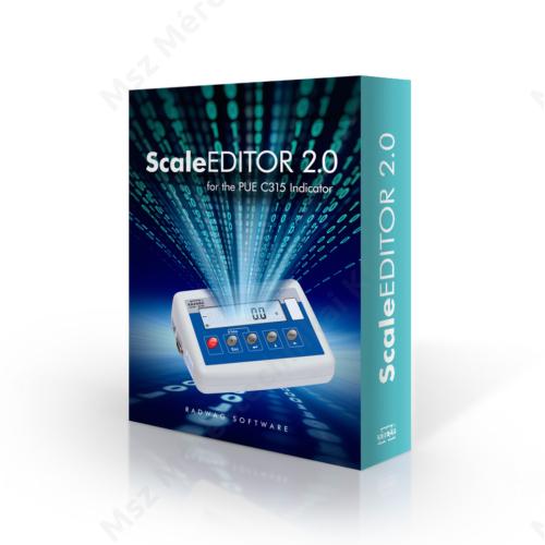Scale Editor 2.0 mérlegszoftver (Ingyenes)