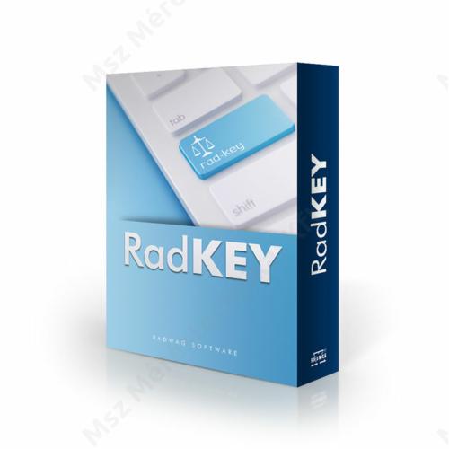 RAD-KEY mérlegszoftver (Ingyenes)