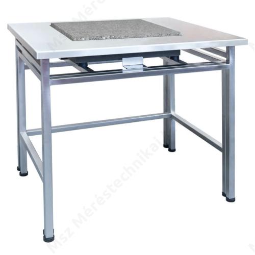 SAP/H – Anti-vibrációs mérlegasztal, rozsdamentes acél kivitel