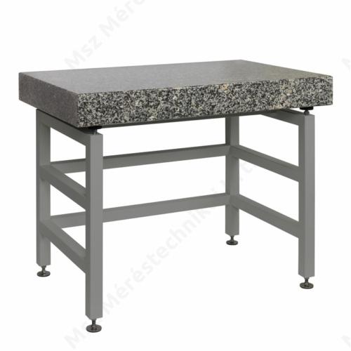 SAL/STONE/H – Anti-vibrációs mérlegasztal, rozsdamentes acél kivitel