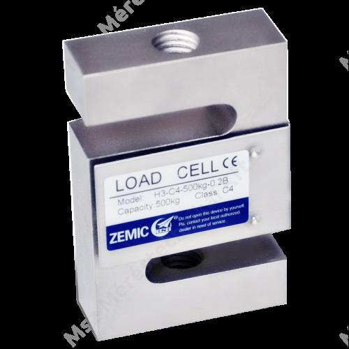 Zemic H3 ötvözött acél S alakú cella, OIML tanúsítva (25kg-30t)